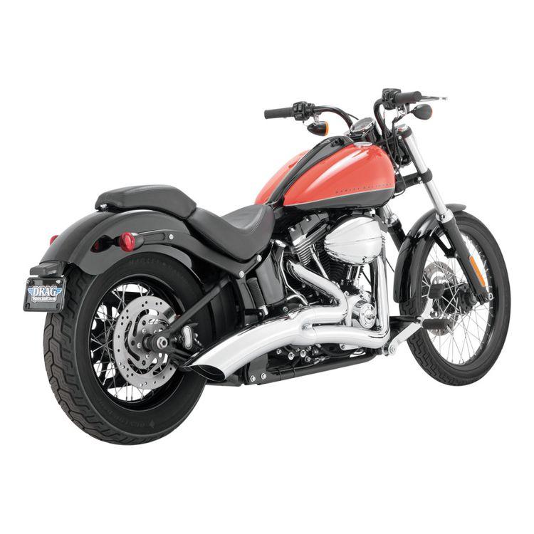 Vance & Hines Big Radius 2-Into-1 Exhaust For Harley Softail 2012-2017