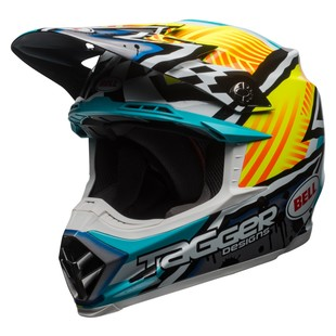 Bell Moto-9 MIPS Tagger Assymetric Motorcycle Helmet