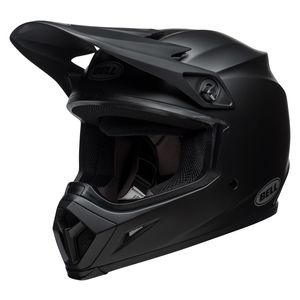 Dirt Bike Helmet With Visor >> Bell Mx 9 Mips Helmet Revzilla
