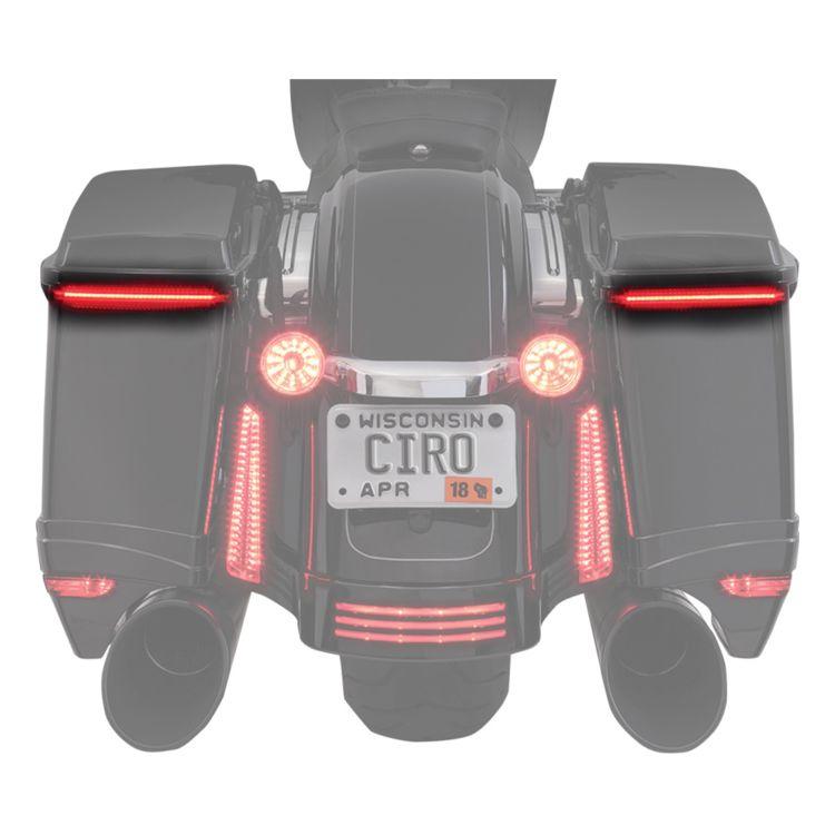 Ciro Bag Blades Lights For Harley Touring 2014-2020