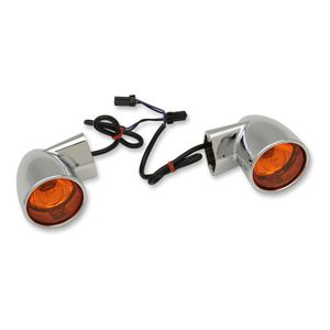 Drag Specialties Rear Turn Signals For Harley 1986-2018