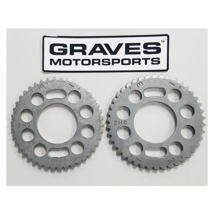 Graves Slotted Cam Sprockets Yamaha YXZ1000R 2016-2017