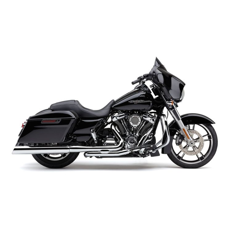 Cobra 909 Slash Down Slip-On Mufflers For Harley Touring 2017-2018