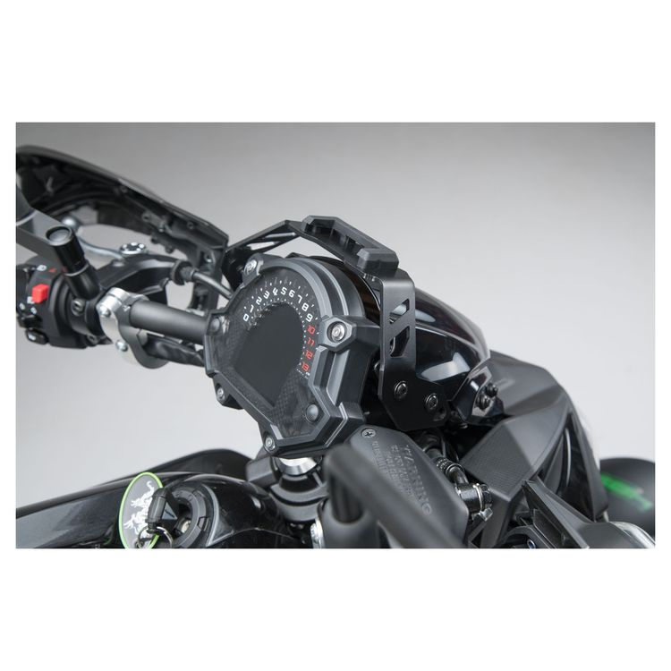 SW MOTECH Quick Release GPS Mount Kawasaki Z650 2017 2018