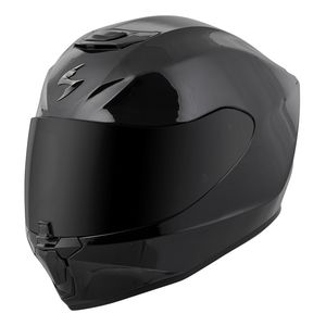 Motorbike Motorcycle Full Face Helmets VCAN V127 New Sports Touring Racing Helmets ECE ACU Gold Approved Helmets With Dark Inner Visor HOLLOW MATT BLACK Medium