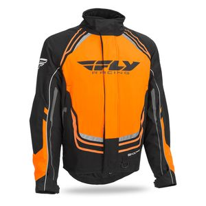 Fly Racing Youth SNX Pro Jacket Sm Orange 470-4078YS