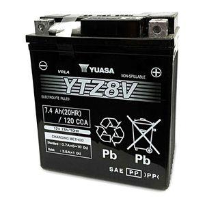 Yuasa YTZ8V Factory Activated AGM High Performance Battery