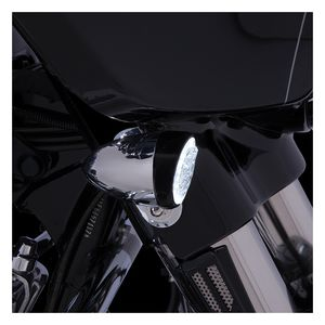 Ciro Fang LED Front Bullet Turn Signal Inserts For Harley 2000-2019