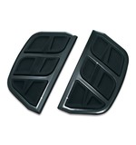 Kuryakyn Kinetic Traditional D-Shaped Passenger Floorboard Inserts For Harley 1986-2018