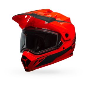Bell MX-9 Adventure Torch Snow Helmet - Dual Lens