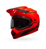 Bell MX-9 Adventure Torch Snow Helmet - Dual Lens