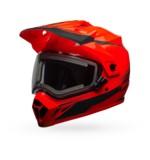 Bell MX-9 Adventure Torch Snow Helmet - Electric Shield