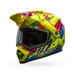 Bell MX-9 Adventure Tagger Double Trouble Snow Helmet - Dual Lens