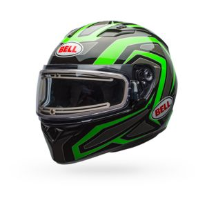 Bell Qualifier Reflective Snow Helmet - Electric Shield