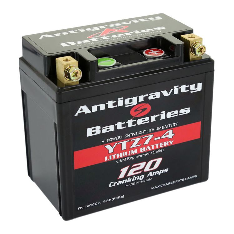 Antigravity YTZ7-4 4-Cell 120CA Lithium Ion Battery
