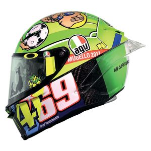 AGV Pista GP R Carbon Mugello 2017 Kentucky Kid Tribute Helmet
