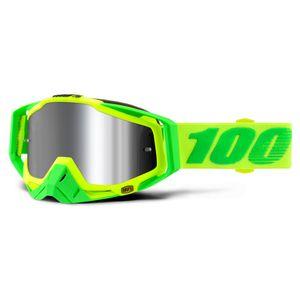 100% Racecraft Plus Goggles - Mirrored Lens