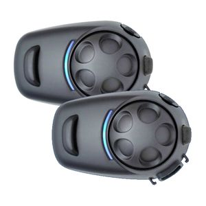 Sena SPH10H-FM Bluetooth Intercom With FM Tuner For Half Helmets - Dual Pack