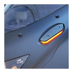New Rage Cycles Mirror Block Off LED Turn Signals Suzuki GSXR600 / GSXR750 / GSXR1000