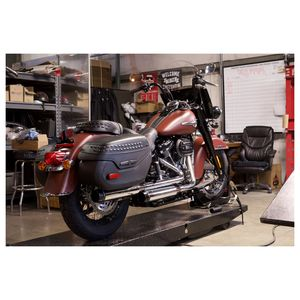 V Twin Mower Exhaust