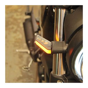 New Rage Cycles LED Front Turn Signals Ducati Scrambler Cafe Racer / Sixty2 / Desert Sled 2016-2020