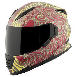 Speed and Strength SS1310 Black Heart Helmet - Closeout