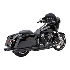"Cobra 4"" NH Dual Cut Slip-On Mufflers For Harley Touring"