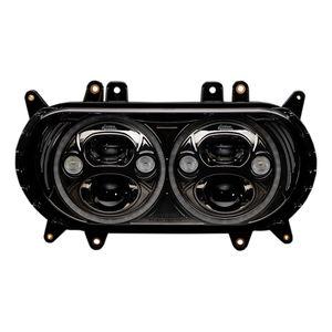 "Custom Dynamics 5 3/4"" LED TruBeam Headlight Inserts For Harley Road Glide"
