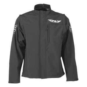 Fly Racing Dirt Black OPS Convertible Jacket