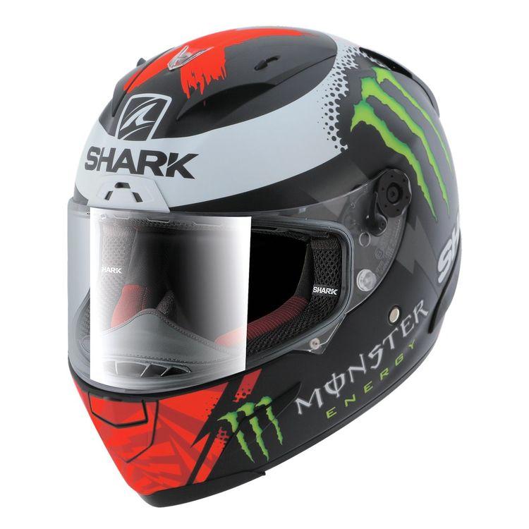 shark race r pro lorenzo monster 2017 helmet revzilla. Black Bedroom Furniture Sets. Home Design Ideas