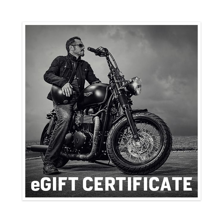 E Gift Certificates For Motorcycle Enthusiasts