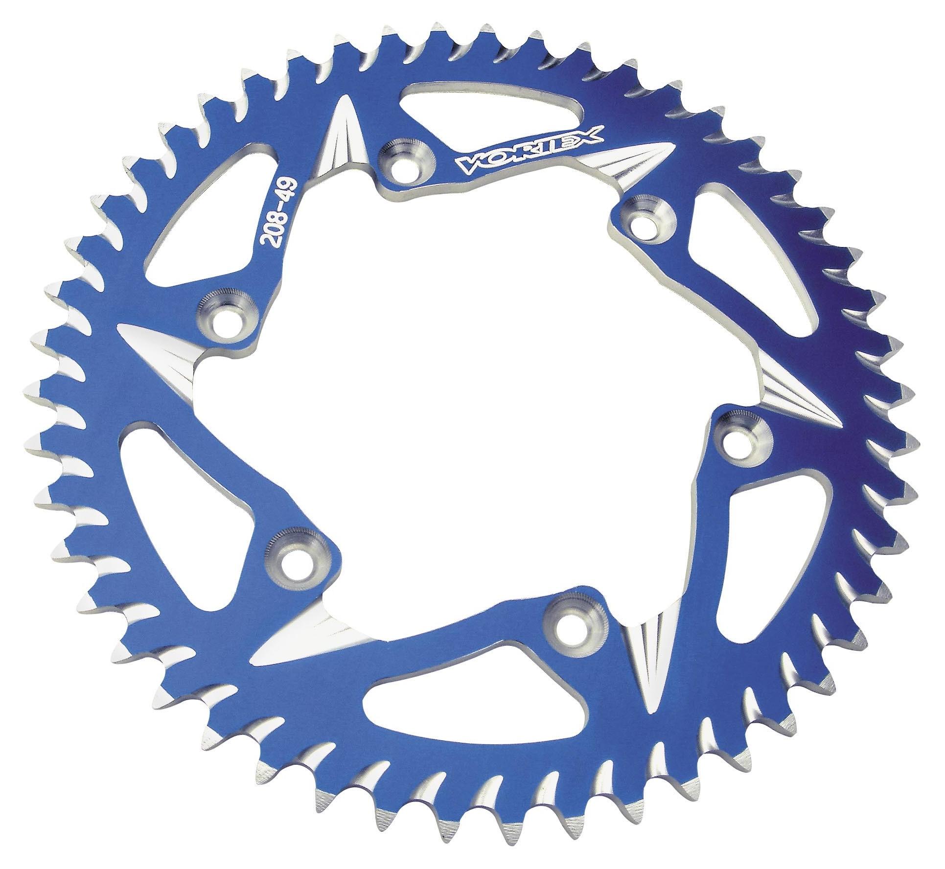 Vortex 247-50 Silver 50-Tooth Rear Sprocket
