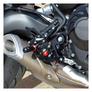 JFG RACING Syst/ème d/échappement pour Moto Yamaha MT-09 FZ-09 2014-2018