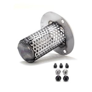 Roland Sands Quiet Baffle For Indian Scout Track Slip-On Mufflers