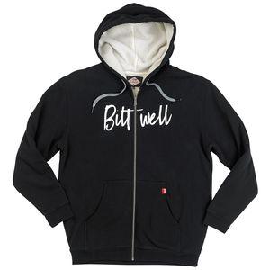 Biltwell Flash Sherpa Zip Hoodie Sweatshirt