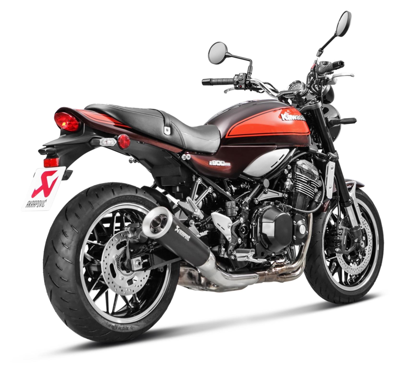 Akrapovic Slip On Exhaust Kawasaki Z900rs Cafe 2018 2019 10 82 20 Off Revzilla