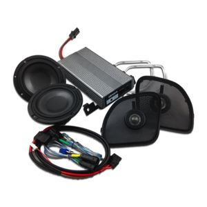 "Wild Boar By Hogtunes 6.5"" Speakers & 400 Watt Amp Kit For Harley Road Glide 2015-2018"