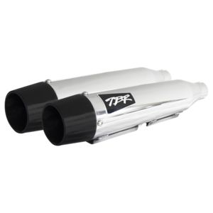 "Two Brothers Shorty 3"" Slip-On Mufflers For Harley 1991-2020"