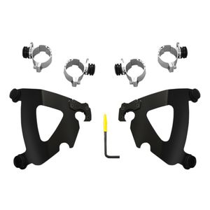 Memphis Shades Road Warrior Trigger Lock Mount Kit For Harley Softail / Wide Glide 1980-2013