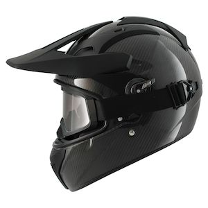 Shark Explore-R Carbon Helmet Black Carbon / XS [Open Box]