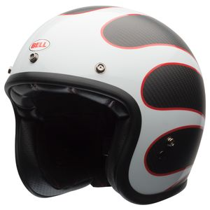 Bell Custom 500 Carbon Ace Cafe Ton Up Helmet