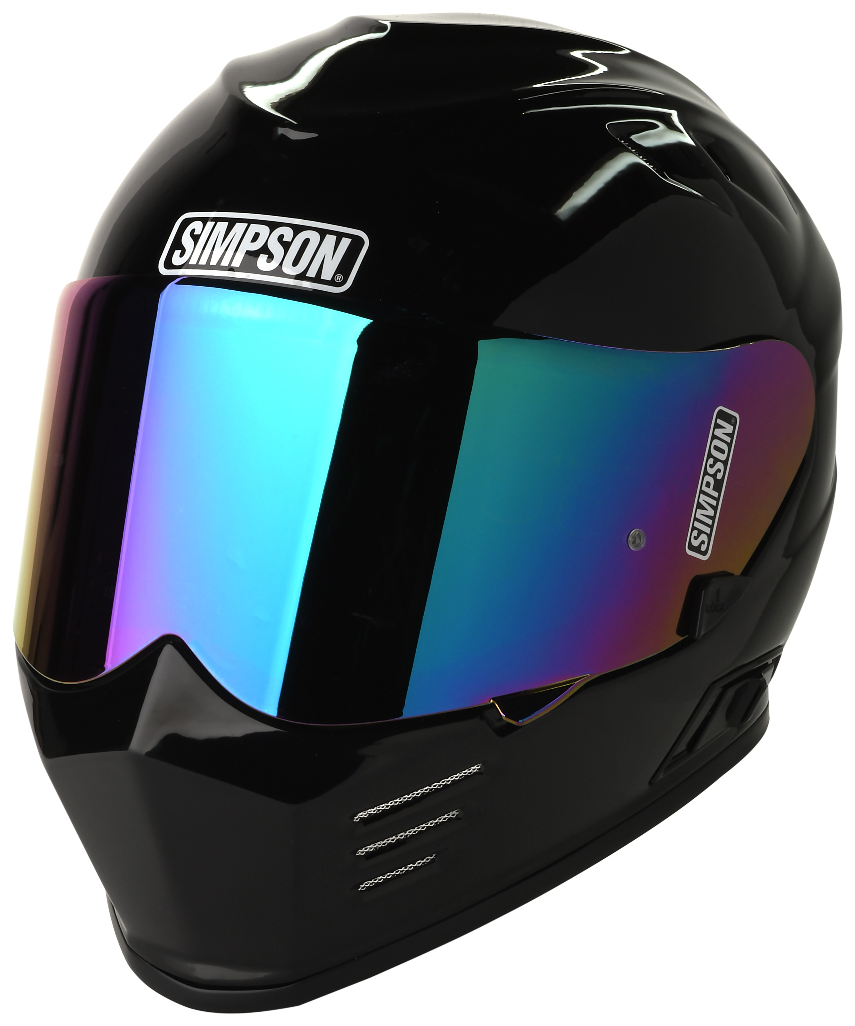 Dirt Bike Helmet With Visor >> Simpson Ghost Bandit Helmet - RevZilla