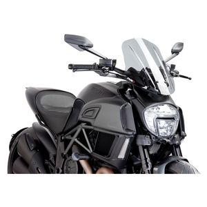 Puig Touring Naked New Generation Windscreen Ducati Diavel 2014-2018