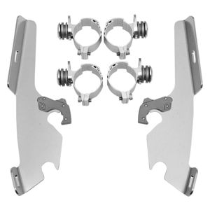 Memphis Shades Metric Fats/Slim Trigger-Lock Mount Kit Suzuki C50 Boulevard / Intruder Volusia