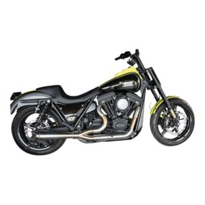Trask Assault 2-Into-1 Stainless Exhaust For Harley FXR 1984-2000