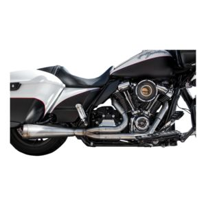 Trask Assault 2-Into-1 Stainless Exhaust For Harley