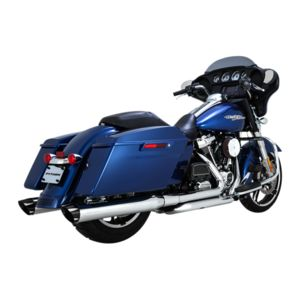 "Python Rayzer 4"" Slip-On Mufflers For Harley Touring"