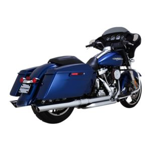"Python 3 1/2"" Slip-On Mufflers For Harley Touring"