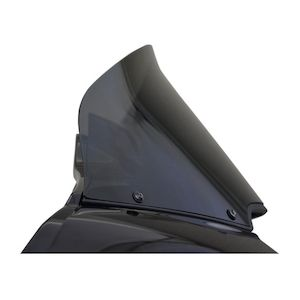 """Wind Vest Replacement Windshield For Harley Road Glide 2015-2018 Dark Smoke / 10"""" Tall [Previously Installed]"""