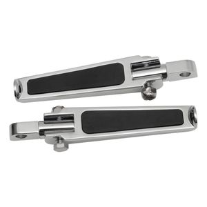 Drag Specialties Rubber Inlay Footpegs For Harley